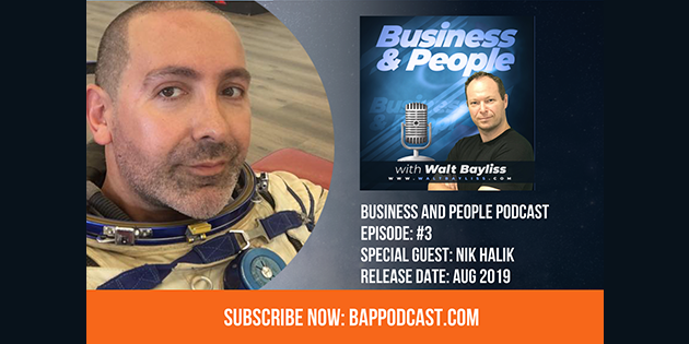 Business and People Podcast Episode 3 Nik Halik