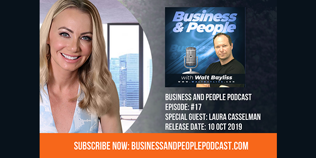 Business and People Podcast Episode 17 Laura Casselman