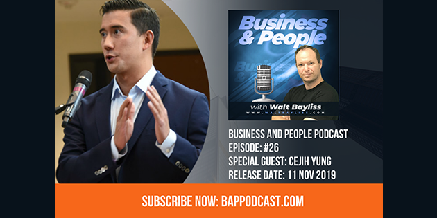 Business and People Podcast Episode 26 Cejih Yung