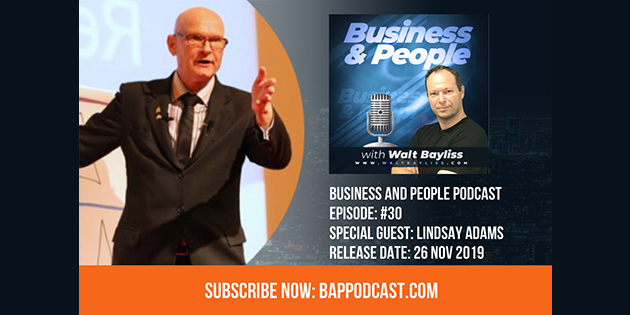 Business and People Podcast Episode 30 Lyndsay Adams