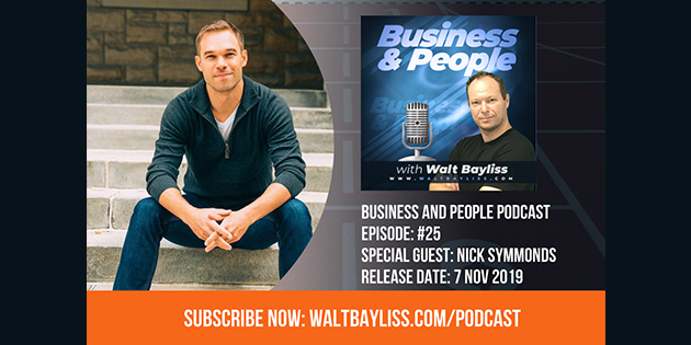 Business and People Podcast Episode 25 Nick Symmonds