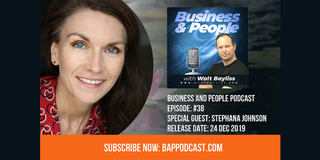 Business and People Podcast Episode 38 Stephana Johnson
